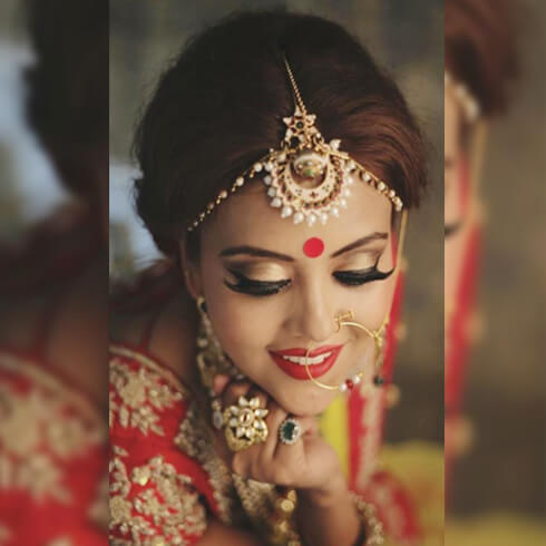 USE BROW POWDER Pre-Wedding Beauty & Fashion Tips For Indian Brides-To-Be