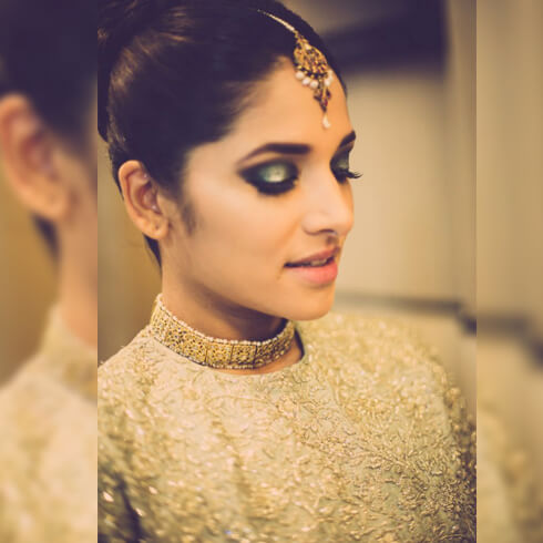 GOLD TONE MAKEUP ALL THE WAY Pre-Wedding Beauty & Fashion Tips For Indian Brides-To-Be