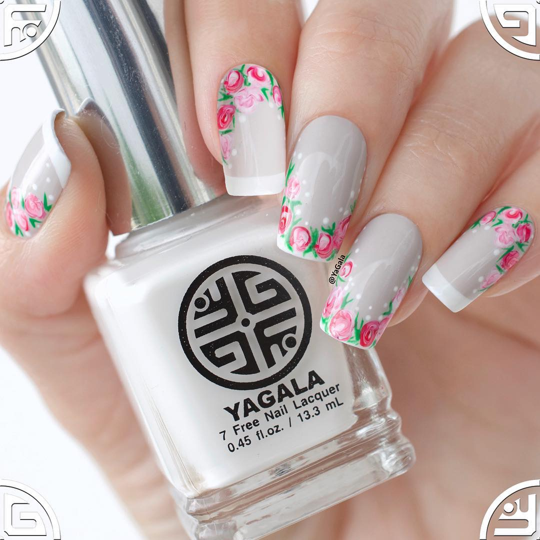 Floral Nail Art Best Nail Art Designs of This Year For Women