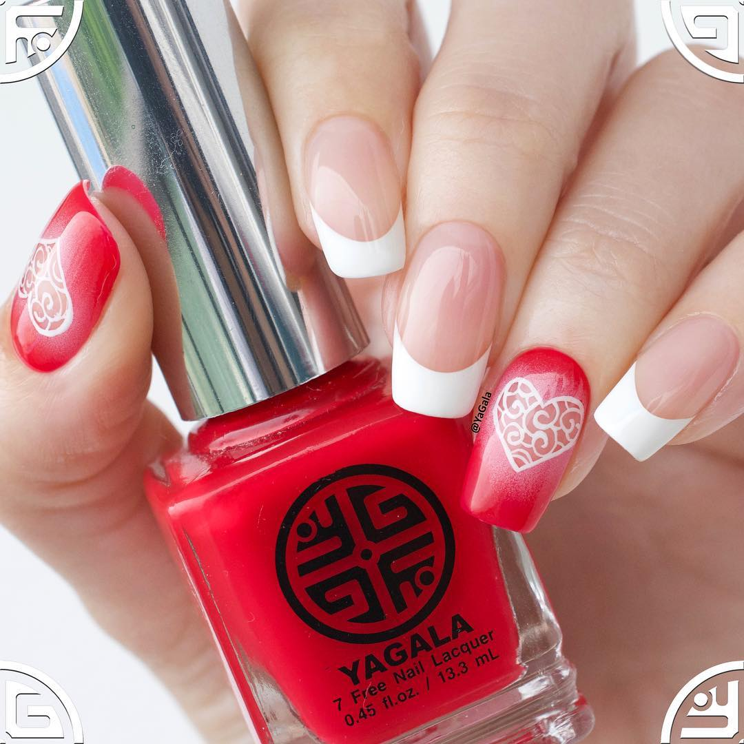 Heart Nail Art  Heart Nail Art Best Nail Art Designs of This Year For Women