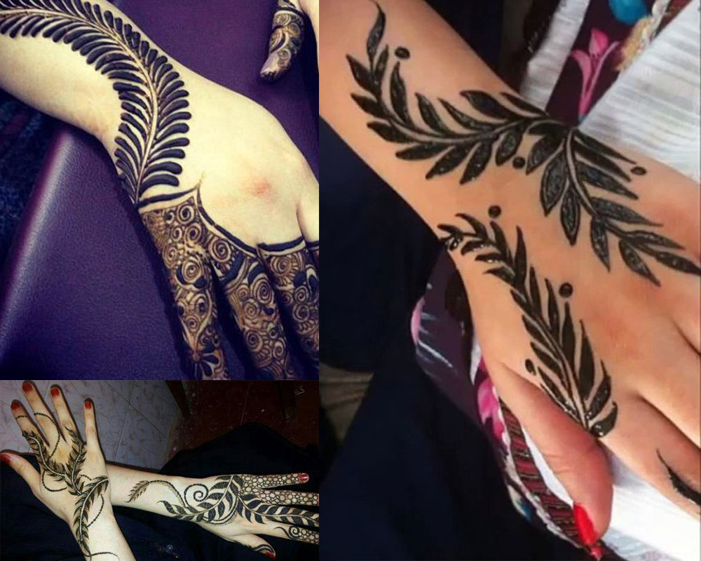 LEAVES MEHNDI DESIGN  Mehndi Designs For Your Special Look (Complete Package)