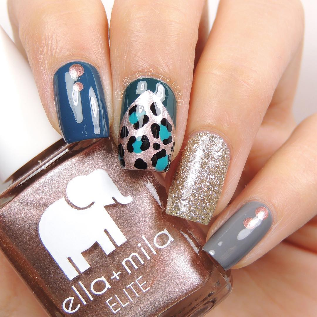 Multiple Nail Art  Best Nail Art Designs of This Year For Women