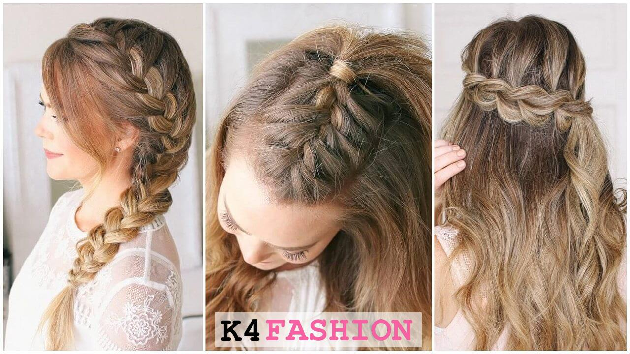 Quick And Easy French Braid Hairstyles For Girls K4 Fashion