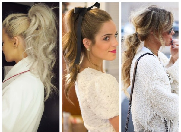 Curly tail Adorable Ponytail Hairstyles To Try This Summer