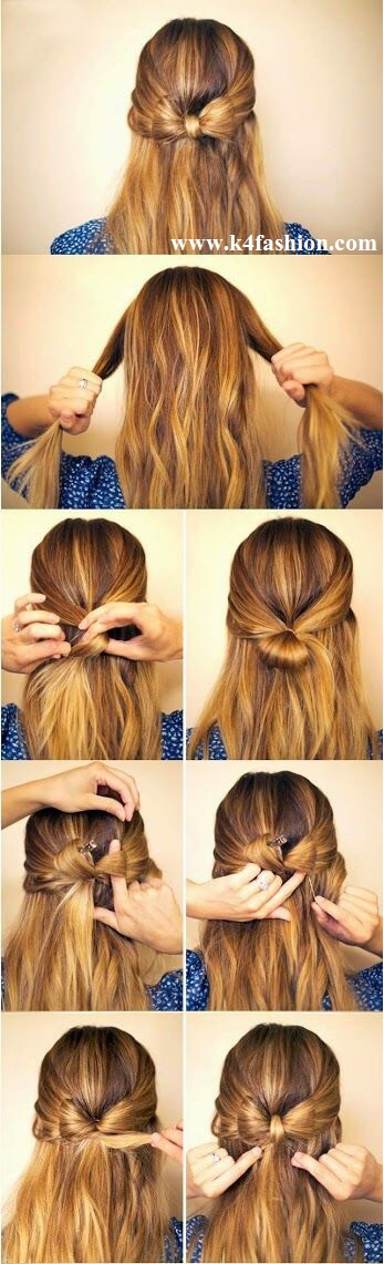 Hair Bow Elegant Prom Hairstyles For Long & Short Hair