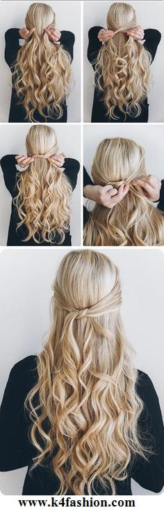 Knot hairstyle Evening Hairstyles for Long and Medium Hair