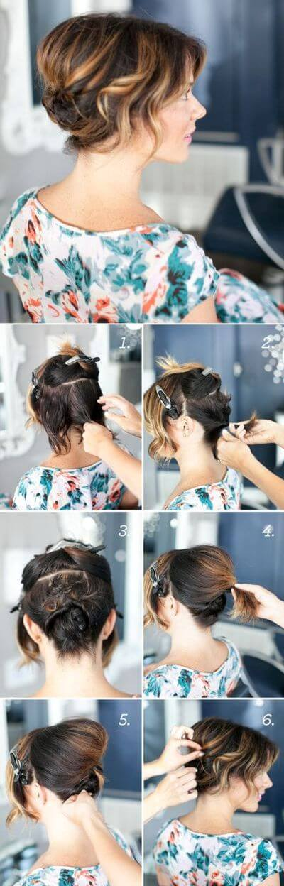 Hairstyle for Short Hair Elegant Prom Hairstyles For Long & Short Hair