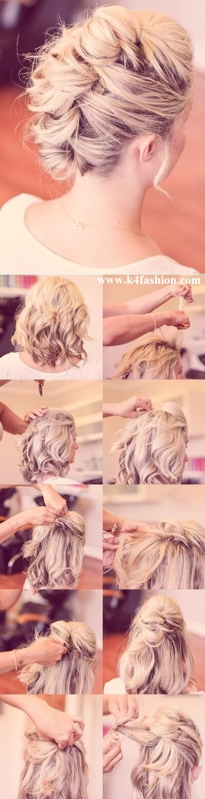 Hairstyle for Shoulder Length Hair Elegant Prom Hairstyles For Long & Short Hair