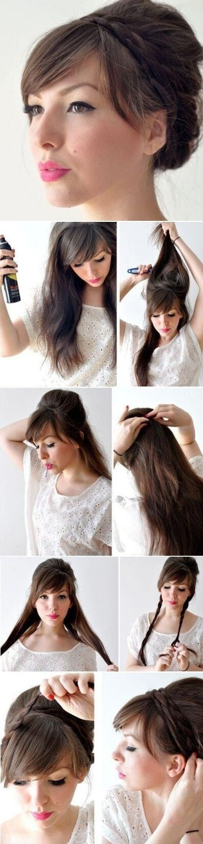 Hairstyle with fleece Elegant Prom Hairstyles For Long & Short Hair