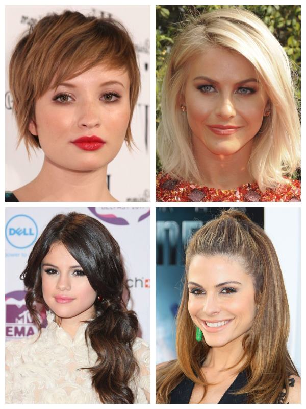 Ombre Hair Color Choose The Right Haircut & Hairstyle For Your Face Shape