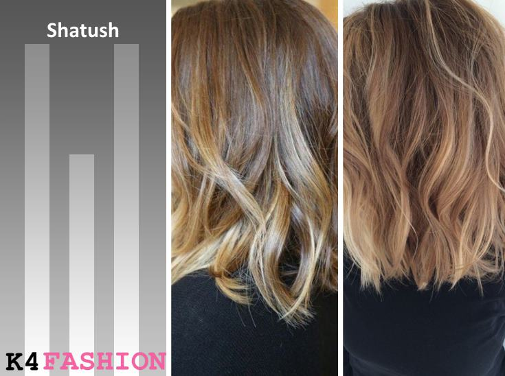 Shatush Shatush, Ombre and Balayage - What's The Difference
