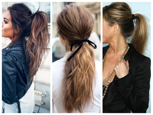 Sloppy tail Adorable Ponytail Hairstyles To Try This Summer