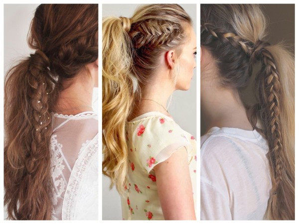 Tail with Pigtails Adorable Ponytail Hairstyles To Try This Summer