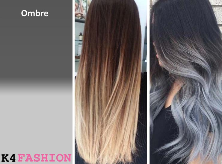 Ombre Hair Color Shatush, Ombre and Balayage - What's The Difference