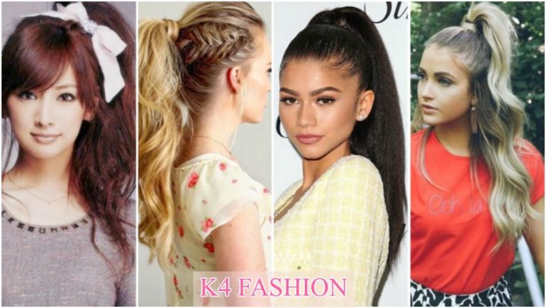 Adorable Ponytail Hairstyles To Try This Summer K4 Fashion