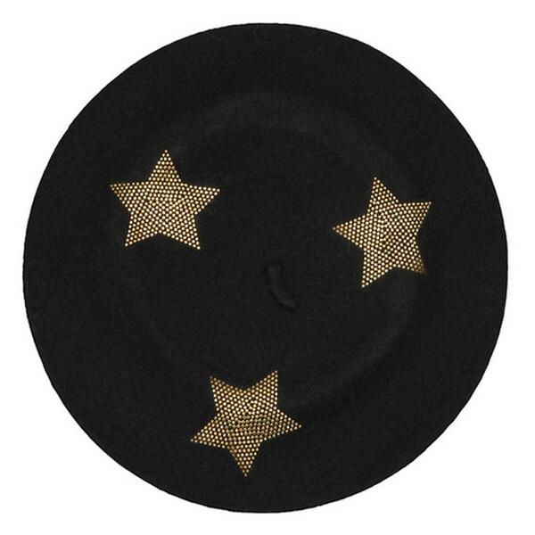 Winter Warm Star Print Hats Cap for Men and Women