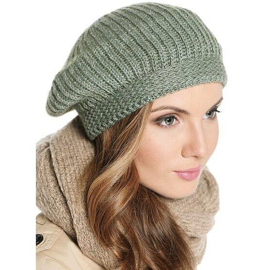 Beautiful knitted hats for winter season