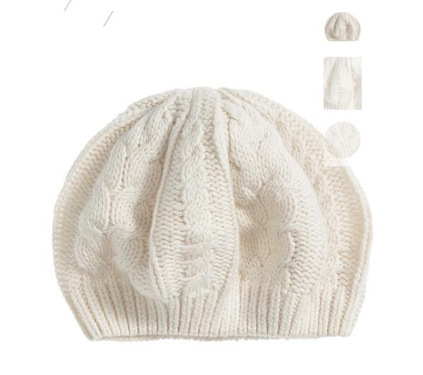 Cute winter cap hat warm knitting woolen hat crochet