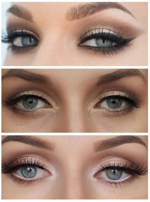 The darkening of the upper eyelid Magical Ways To Enlarge Your Eyes With Makeup