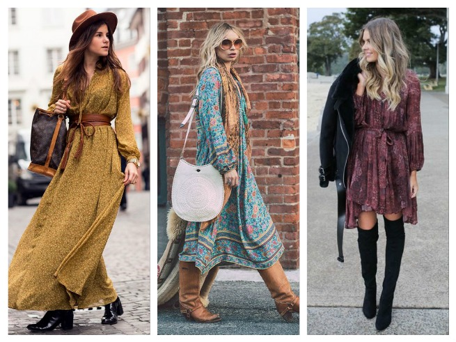 Boho Fall/Winter Outfits Inspiration for Women