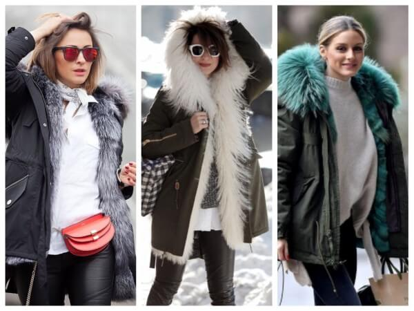 Olivia Palermo winter outfit, How to wear a fur parka for women Winter Special Women's Stylish Jackets