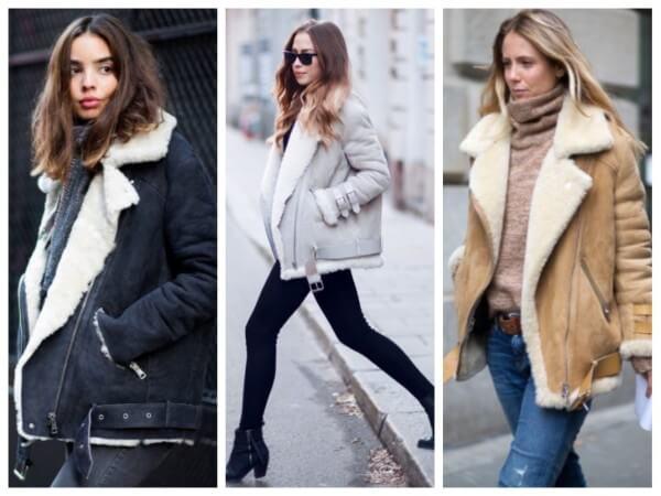 Women's sheepskin fashion, fleece open front coat for fall/winter Winter Special Women's Stylish Jackets