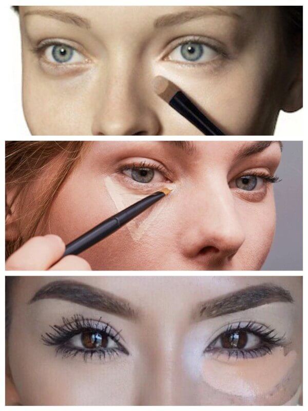 Concealers and proofreaders Magical Ways To Enlarge Your Eyes With Makeup