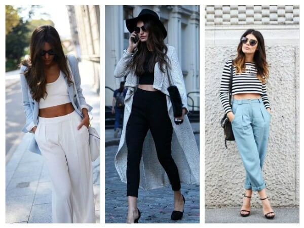 Crop Top and Trousers What To Wear With Crop Top? Your Personal Style Guide