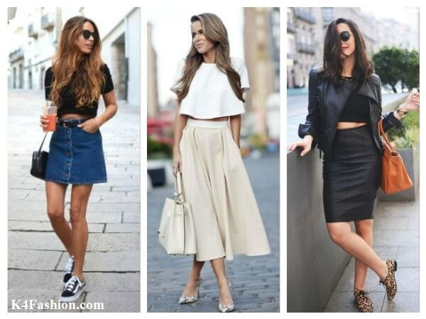Crop Top and Skirt What To Wear With Crop Top? Your Personal Style Guide