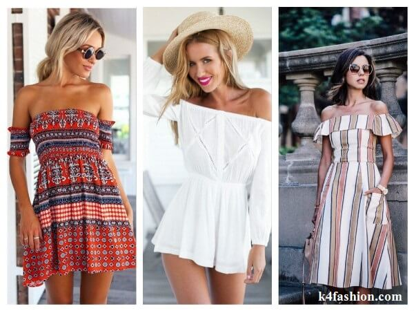 Open Shoulder Dresses Perfect Summer Dresses for Women