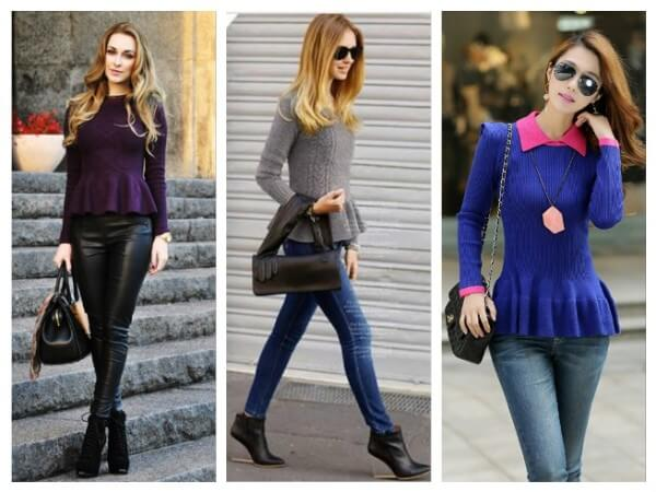 Basque Sweater Different Types of Fall/Winter Sweaters for Women
