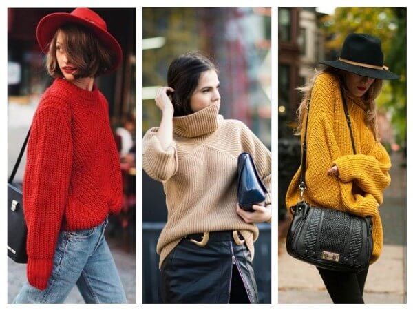 Oversize Sweater Different Types of Fall/Winter Sweaters for Women