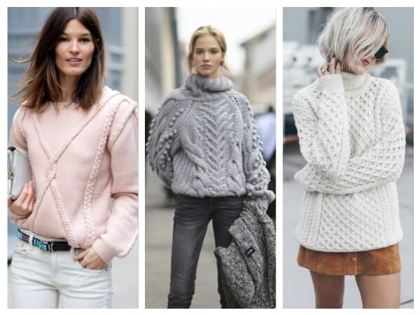 Knitted Sweater Different Types of Fall/Winter Sweaters for Women
