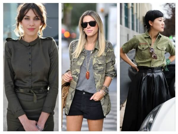 Features of Military Style Military Style Fashion Trends for Women