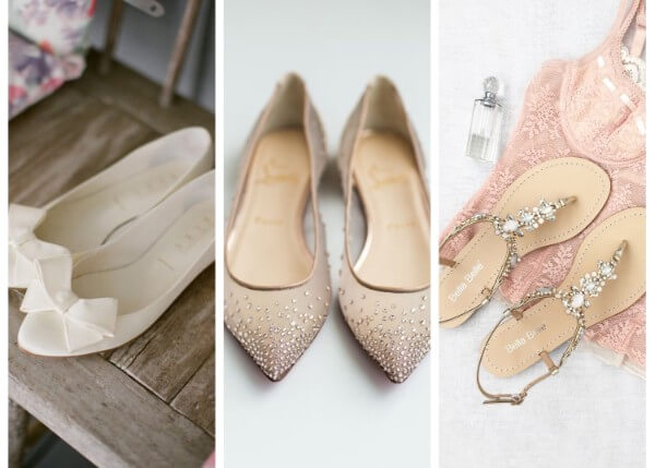 Flats And Sandals Wedding Accessories for Brides: Let's Shop Your Special Day