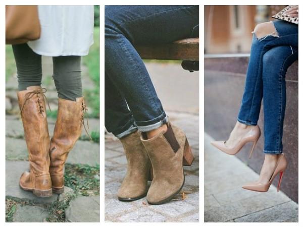Footwear Autumn Wardrobe Basic Essentials for Women