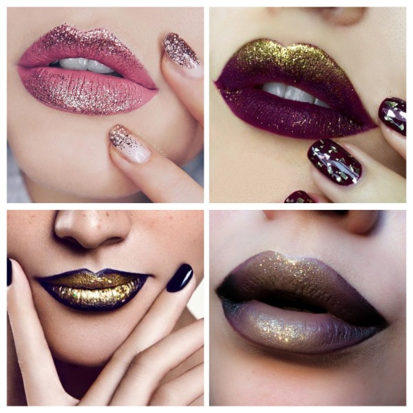 Glitter on the Lips Romantic Makeup To look Fab This Valentine's Day
