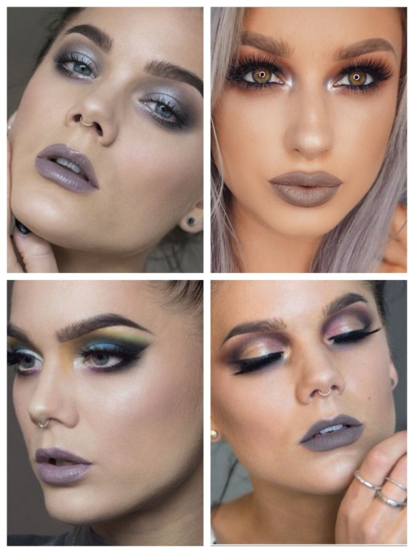 Grey Lipstick Romantic Makeup To look Fab This Valentine's Day
