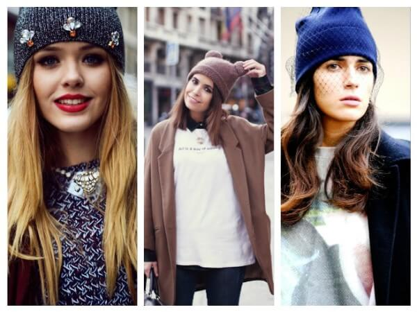 Beanie Caps  Ways to Wear a Winter Hat & Scarves for Women
