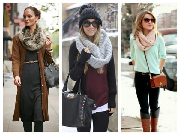 Snoods  Ways to Wear a Winter Hat & Scarves for Women