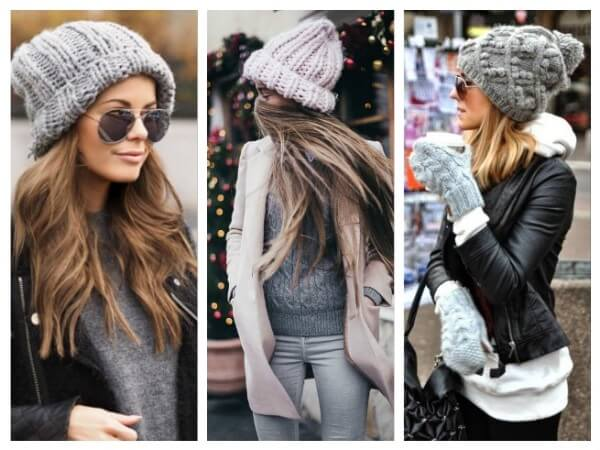 Textured Cap  Ways to Wear a Winter Hat & Scarves for Women