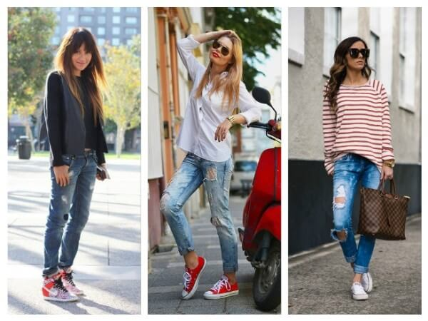 Jeans How To Wear Sneakers Tips for Every Fashion Girl