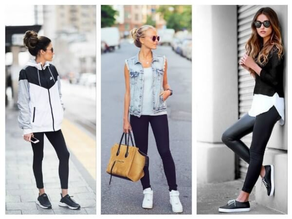 Leggings How To Wear Sneakers Tips for Every Fashion Girl