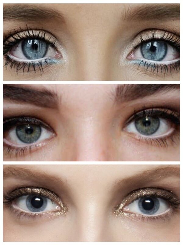 Lightening the Inner Eyelid Magical Ways To Enlarge Your Eyes With Makeup