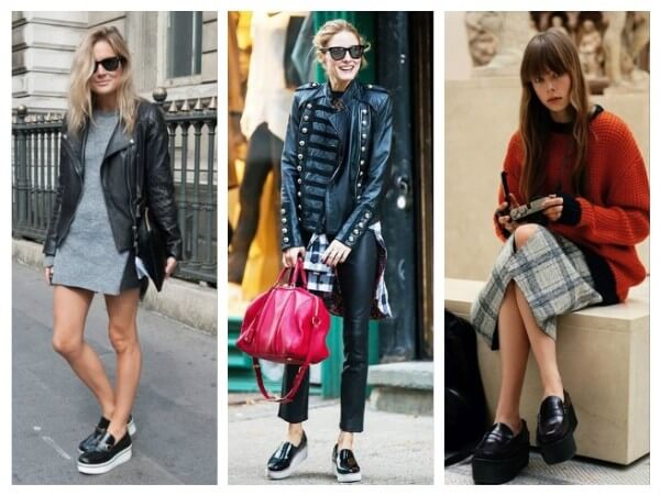 Loafers and slip-on How To Wear Platform Shoes: Your Personal Style Guide