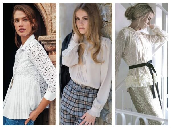 Blouses with Ruffles Fashionable Blouses You Don't Wanna Miss In 2020