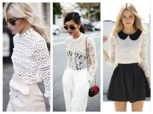 Lace Blouses Fashionable Blouses You Don't Wanna Miss In 2020