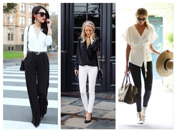 Wrap Blouses Fashionable Blouses You Don't Wanna Miss In 2020