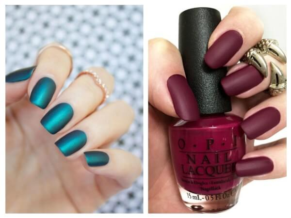 Matte Manicure Trendy Nail Art Designs for Summer Vacations