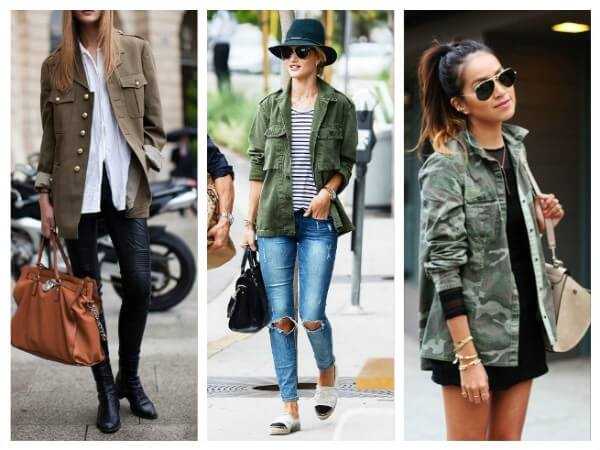 Jacket Military Style Fashion Trends for Women